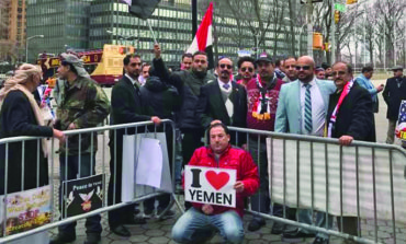 Yemeni Americans stage New York protest, urge U.S. to rethink Saudi alliance