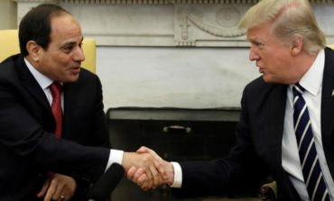 "Trump welcomes Egyptian President Sisi to the White House: ""He has done a fantastic job"""