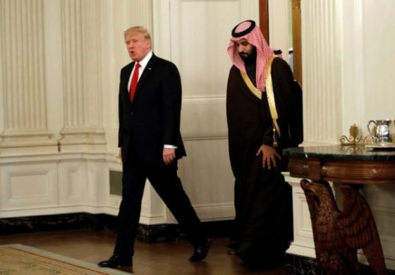 Trump: Saudis not paying fair share for U.S. defense