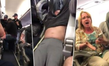 Video captures forced removal of United Airlines customer from overbooked flight