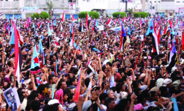 Thousands protest Yemen president's discharging of southern leaders
