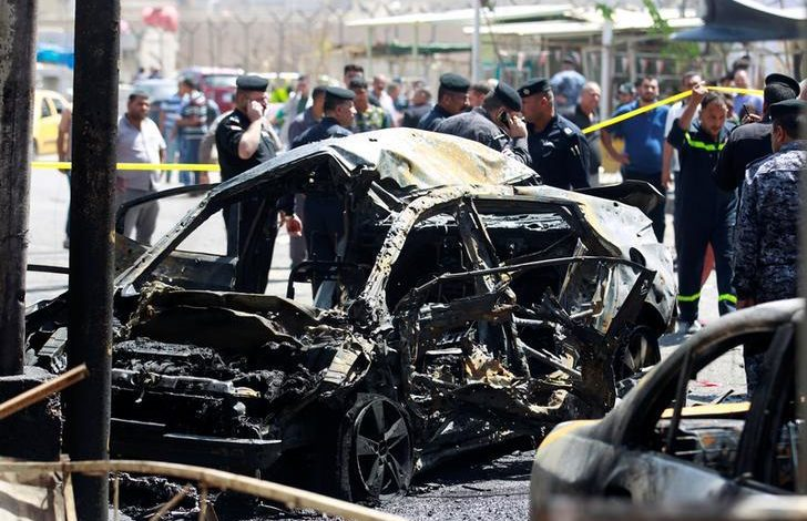 Suicide bomber kills 13, injures 24 at Baghdad ice cream shop