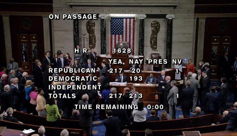 U.S House passes healthcare bill in big win for Trump