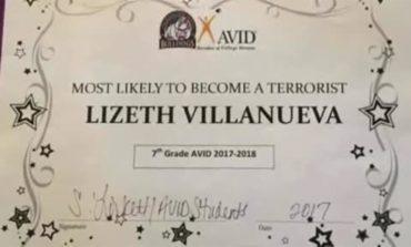 Texas teacher let go for giving mock 'terrorist' award to student