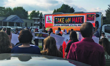 Huge activist turnout confronts hate speech against Arab American students