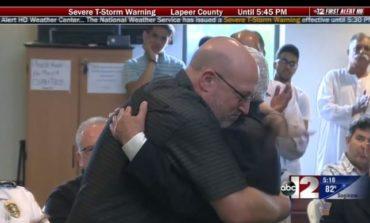 Flint Islamic center raises $10,000 for Lt. Jeff Neville