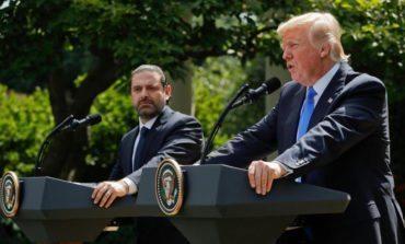 Hariri stays silent as Trump mistakenly says he is fighting Hezbollah