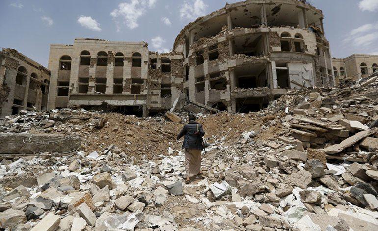 Saudi-led air strikes kill at least 20 Yemeni civilians