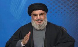 Nasrallah says U.S. can't hurt Hezbollah, dismisses sanctions
