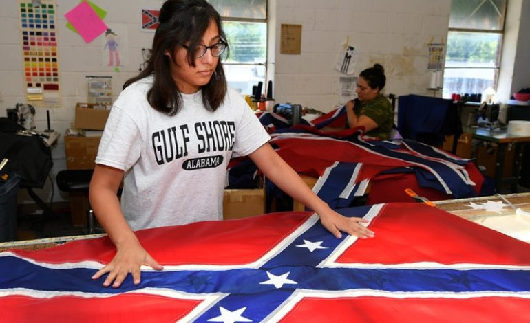 Confederate battle flag sales boom after Charlottesville clash