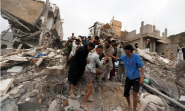 Yemen: Saudi-led coalition air raid kills at least 12, including six children