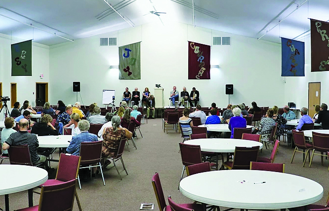 Kalkaska peace group hosts interfaith event, denounces village president's anti-Muslim remarks