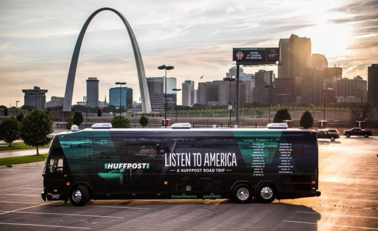 Huffington Post partners with The Arab American News as bus tour comes to Dearborn