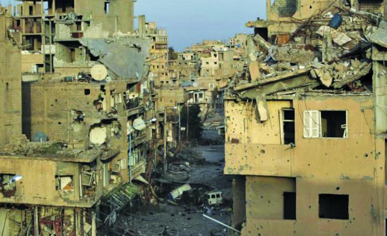 Syrian army secures corridor into Deir al-Zor