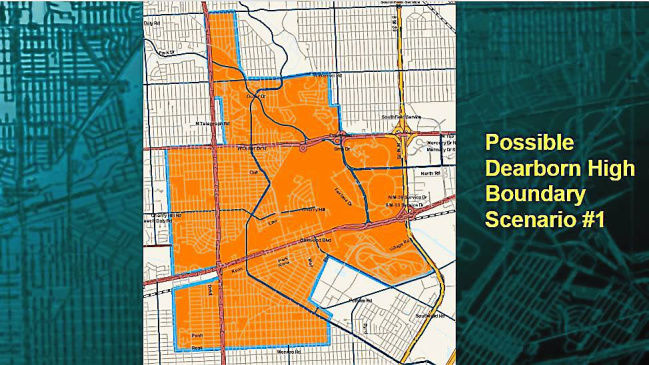 Dearborn School Board tables redistricting options, seeks community input