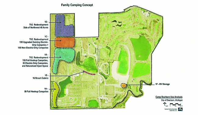 Camp Dearborn Map Mayor, City Council share thoughts on potential sale of 40 acres