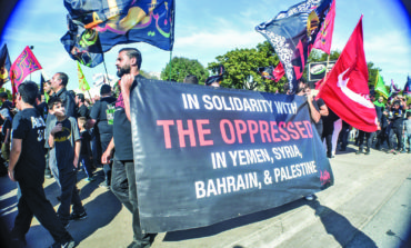 Muslims march against injustice in Dearborn