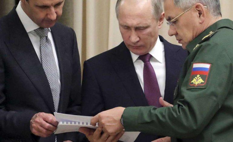 Putin hosts Assad for talks in Russia