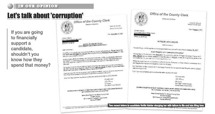 """Let's talk about """"Corruption"""""""