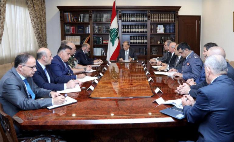 Lebanese president won't accept or reject Hariri's resignation until he returns home