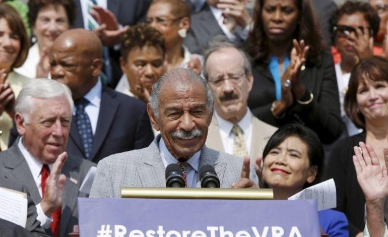 U.S. Rep. Conyers steps down from committee amid harassment investigation