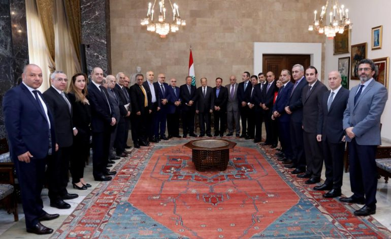 Lebanese president accuses Saudi Arabia of holding Hariri hostage