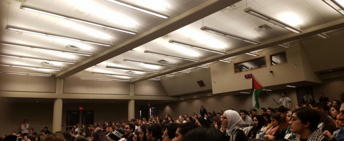 University of Michigan CSG passes divestment resolution