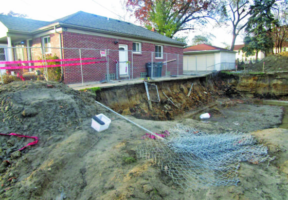 Dearborn couple receives community support and relief as driveway repairs get underway