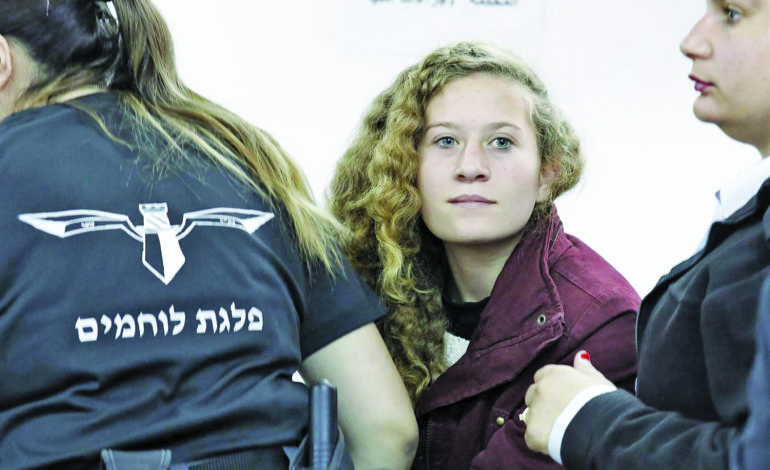 Prominent Palestinian girl Ahed Tamimi hailed as hero after confronting Israeli soldiers