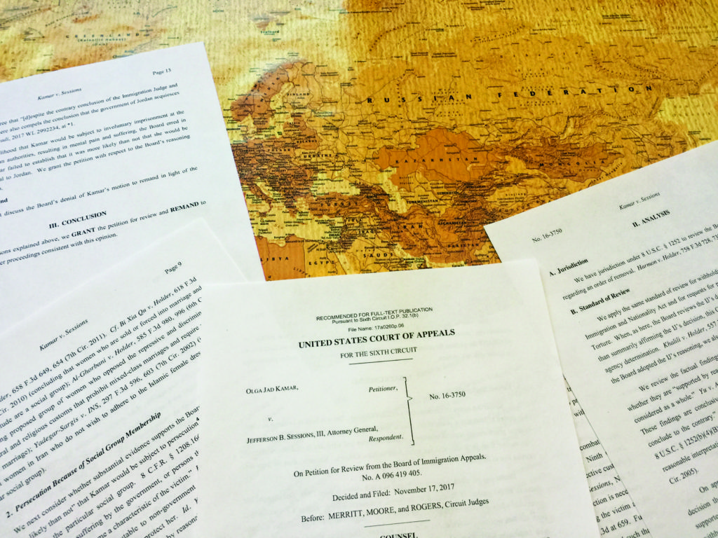 Appeals Court blocks deportation of Jordanian woman facing