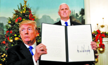 World rejects Trump's recognition of Jerusalem as Israeli capital