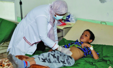 WHO: Suspected diphtheria cases in Yemen near 500