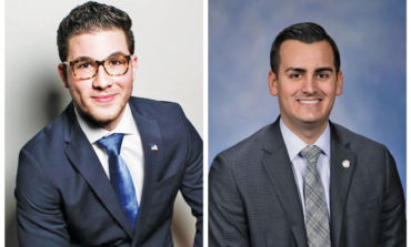 Reps. Abdullah Hammoud and Darrin Camilleri receive Legislator of the Month awards