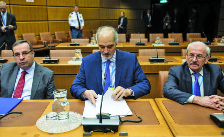 Syrians talk peace in Vienna prior to Russian meeting