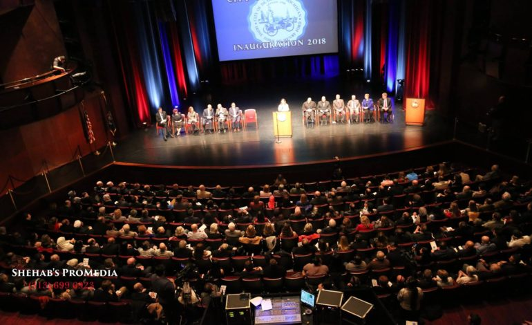 Dearborn city leaders look to future at inauguration ceremony