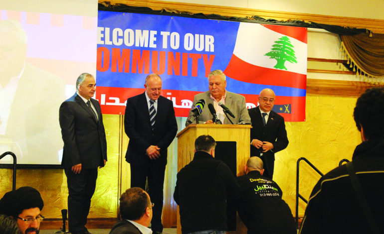 Lebanese security generals visit Dearborn, exchange community policing and court practices