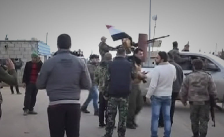 Syria pro-government enters Afrin to aid Kurds against Turkey