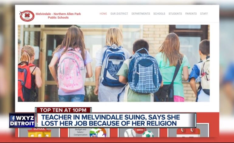 Yemeni American teacher alleging she was fired because of hijab sues Melvindale schools