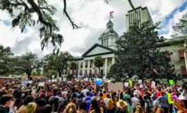 Florida lawmakers pass gun-school safety bill three weeks after massacre