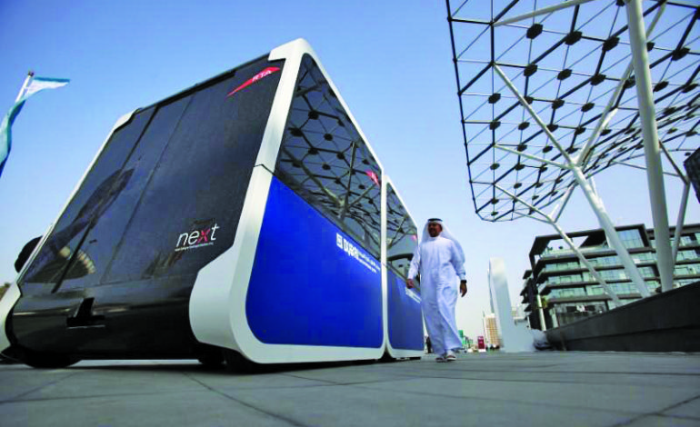 Dubai tests autonomous pods in drive for smart city