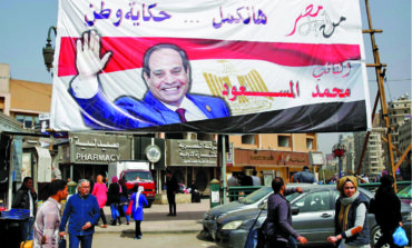 Sisi calls for big turnout in upcoming Egyptian presidential election
