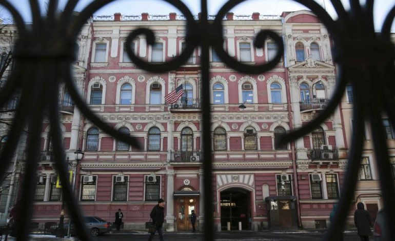 Russia orders out 60 U.S. diplomats over spy poisoning affair
