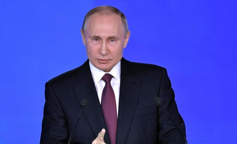 Putin unveils 'invincible' nuclear weapons to counter West