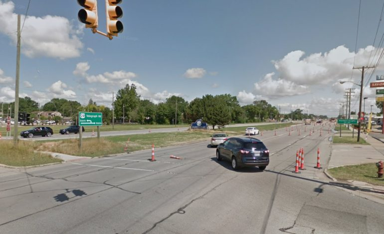 Lane closures announced for section of Ford Road