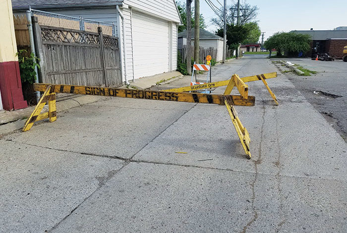 Dearborn alleys scheduled for reconstruction