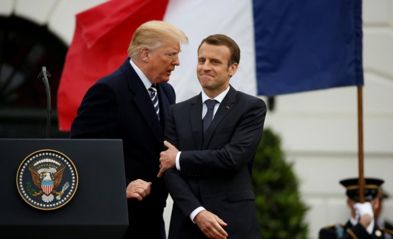 Trump and France's Macron seek new measures on Iran