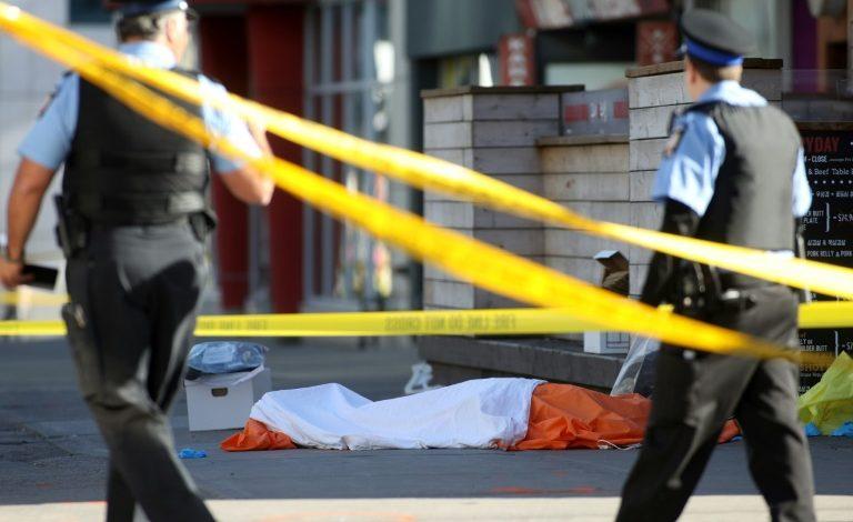 Toronto Police: Van driver kills nine, injures 16 plowing his rental vehicle into a crowd