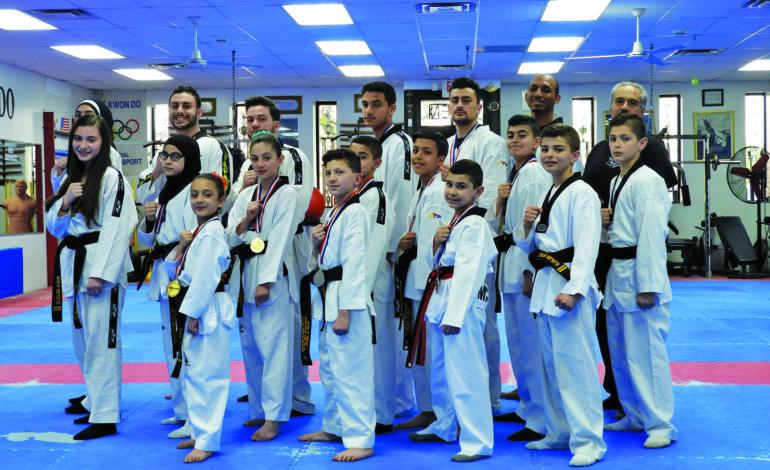 Koubeissi Taekwondo School stresses moral focus as the road to success