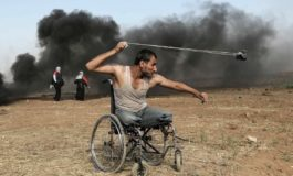 Israeli occupation forces kill dozens, injure hundreds of Palestinians in Gaza