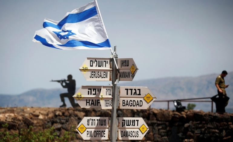 Israeli minister: U.S. may soon recognize Israel's hold on Golan